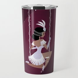 Vintage Circus - Lavender Travel Mug