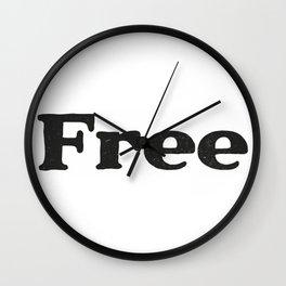 Free Wall Clock