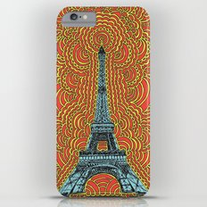 Eiffel Tower Drawing Meditation - Blue/Red/Yellow Slim Case iPhone 6s Plus