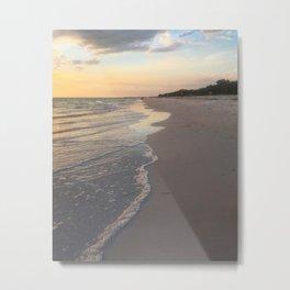Florida's Sunset Strip Metal Print