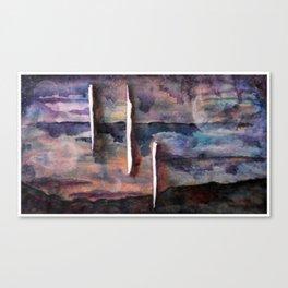 Death No. 2 Canvas Print