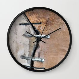 Our Cracked Planet Wall Clock