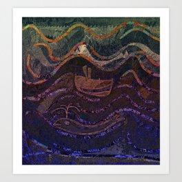 Adrift2 Art Print