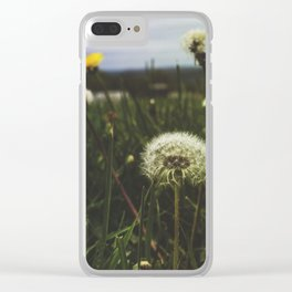 Field of Wishes Clear iPhone Case