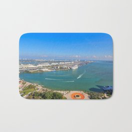Biscayne Bay View Bath Mat