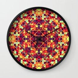 Playful Geometry 002 Wall Clock