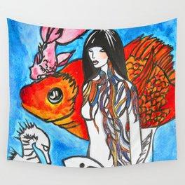 The Sea King's Daughter #society6 #decor #buyart Wall Tapestry