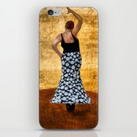 spanish iPhone & iPod Skins featuring Spanish Dancer by Anthony M. Davis