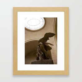 Winged Victory Framed Art Print