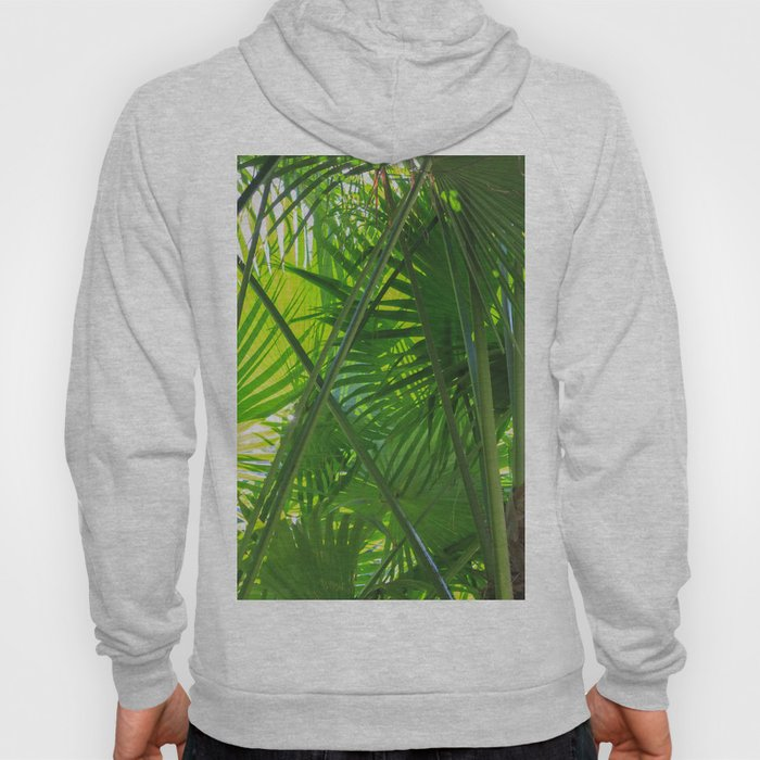 Sunny Tropical Palms 2 Hoody