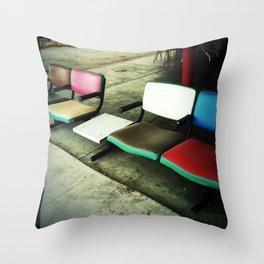 Chairs, Seligman AZ Throw Pillow