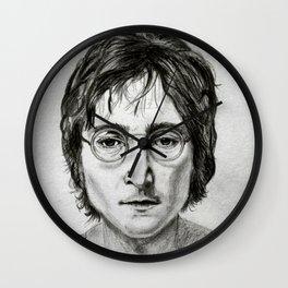 portrait of John L Wall Clock
