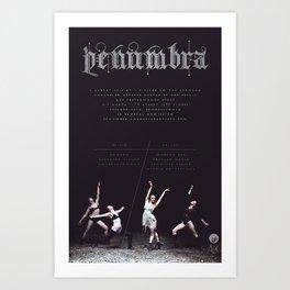 Penumbra Poster Design Art Print