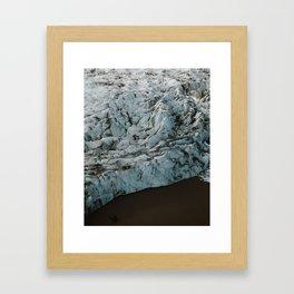 Glacier Lagoon (Fjallsarlon) Framed Art Print