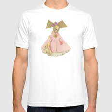 Carousel Of Color White SMALL Mens Fitted Tee