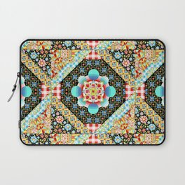 Bricolage Patchwork Quilt (printed) Laptop Sleeve