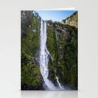 waterfall Stationery Cards featuring Waterfall.. by Michelle McConnell