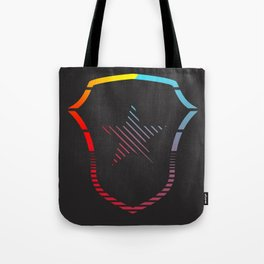 Striped A35 Logo Tote Bag