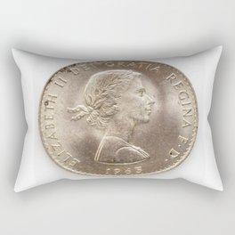 Elizabeth II 1963 Rectangular Pillow