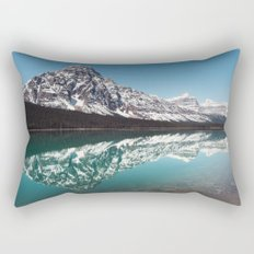 Reflection in the Rockies Rectangular Pillow
