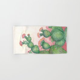 Prickly Pear Cactus Hand & Bath Towel