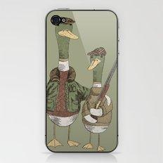 Hunting Ducks iPhone & iPod Skin
