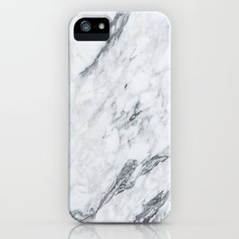Gray Marble #2 iPhone Case