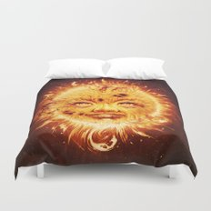 The Sun (Young Star) Duvet Cover