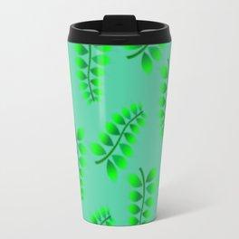 Sponged Foliage Pattern. Travel Mug