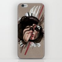 helen iPhone & iPod Skins featuring HELEN by CABINET