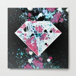 Tangram Diamond One Metal Print