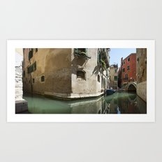 italy - venice - widescreen_621-623 Art Print