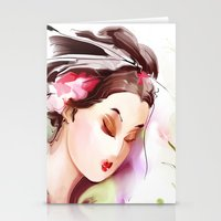 japanese Stationery Cards featuring Japanese by tatiana-teni