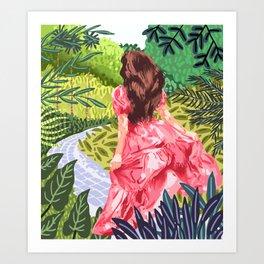Escape Into Nature Art Print