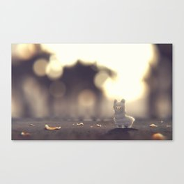 Tiny Alpaca Adventures Canvas Print
