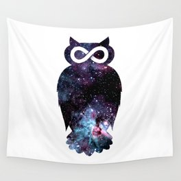 Super Cosmic Owlfinity Wall Tapestry
