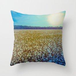 Rising Cotton Throw Pillow