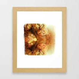 dont eat me Framed Art Print