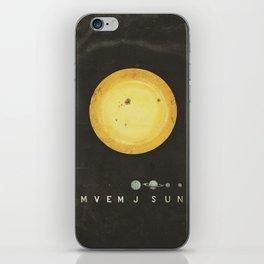 Planetary Arrangement iPhone Skin