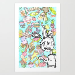But...Where's My Carrot? Art Print
