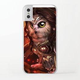 wonder owl Clear iPhone Case