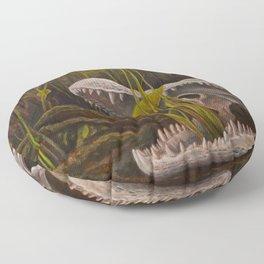 Lily Gator Floor Pillow