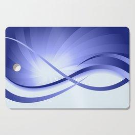 Ruhe - Blautöne Cutting Board