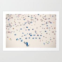 Bondi Brellas Art Print