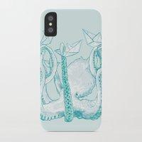 kraken iPhone & iPod Cases featuring Kraken by Badaro