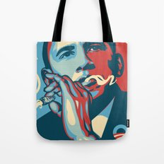 the dopest president (normal colors) Tote Bag