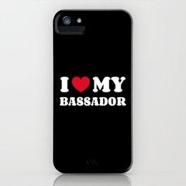 Bassador iPhone Case