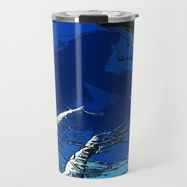 Old Man Winter Travel Mug