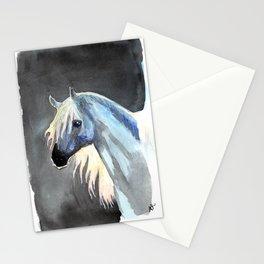the last unicorn Stationery Cards