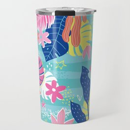 Tropical Vibes Travel Mug